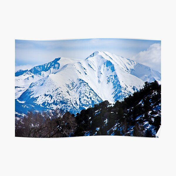 Face of Mt. Sopris Poster
