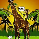 Cha Giraffe  by alford