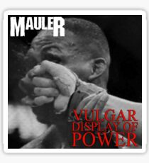 "Alexander Gustafsson ""Vulgar Display of Power"" T-Shirt Sticker"