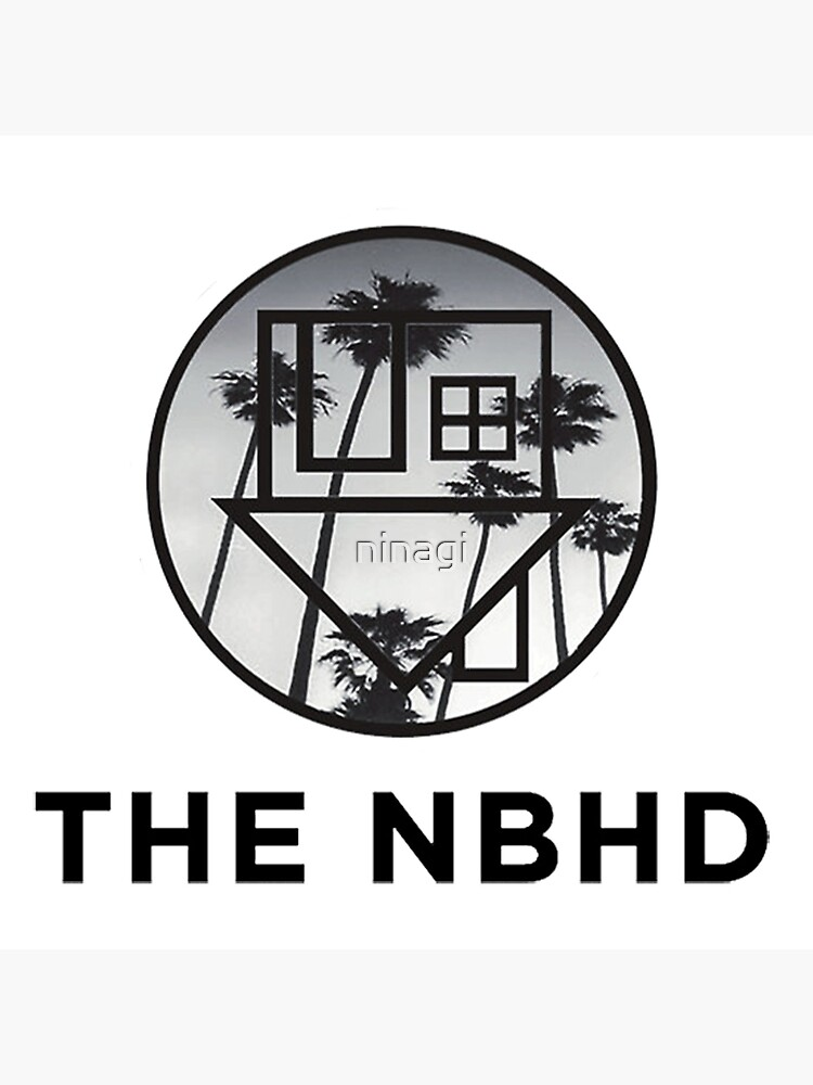 The Neighbourhood Palm Tree Print The NBHD Band Shirt by ninagi
