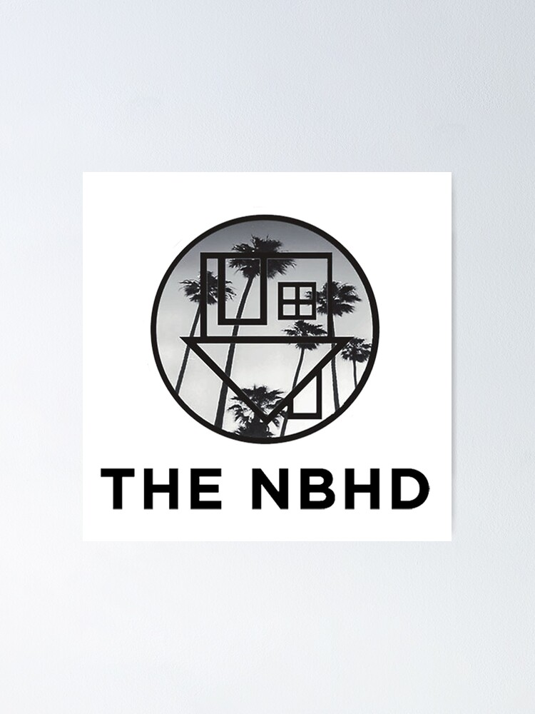 Alternate view of The Neighbourhood Palm Tree Print The NBHD Band Shirt Poster