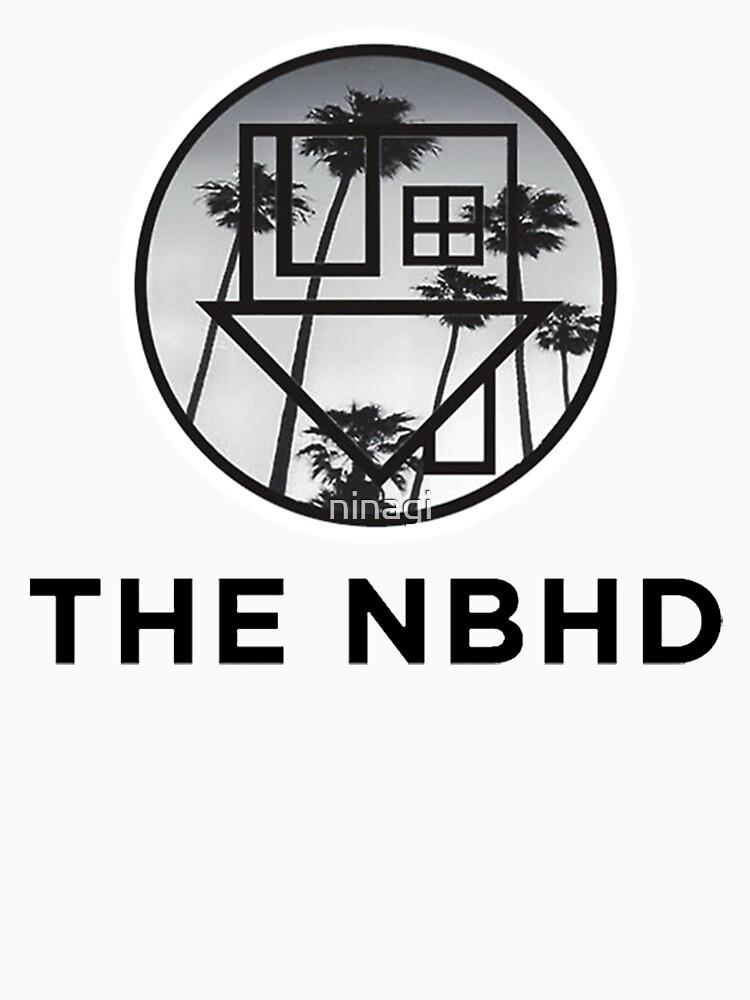 The Neighbourhood Palm Tree Print The NBHD Band Shirt | Unisex T-Shirt