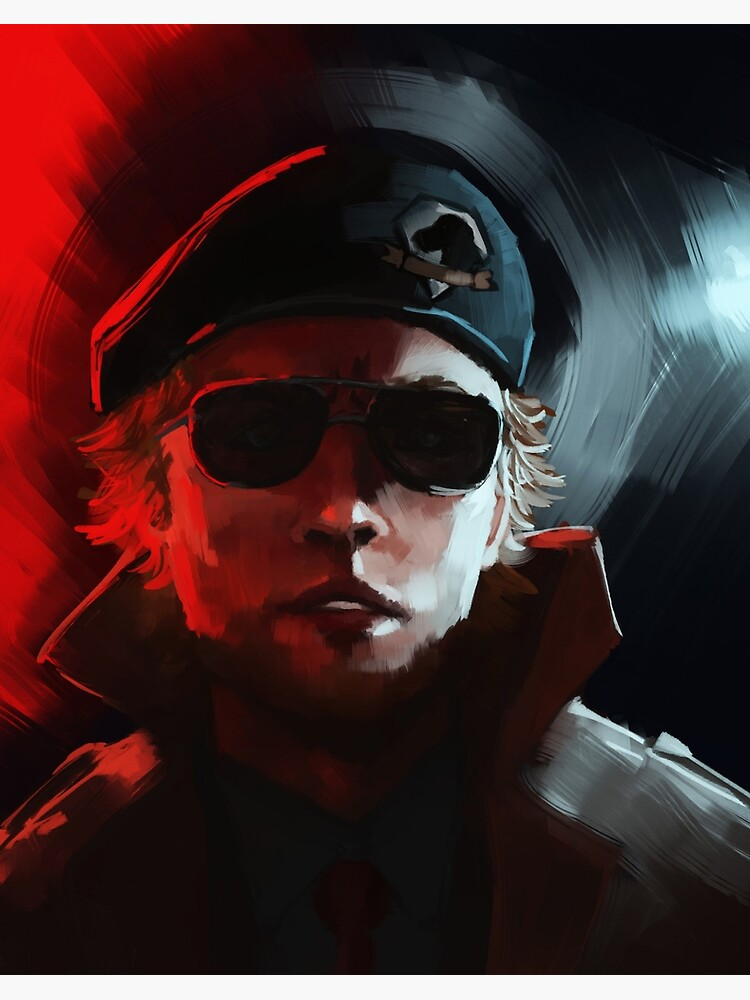 Phantom Pain Kazuhira Miller Art Board Print By Lileiv Redbubble Or did i just triggered some sidequest? redbubble