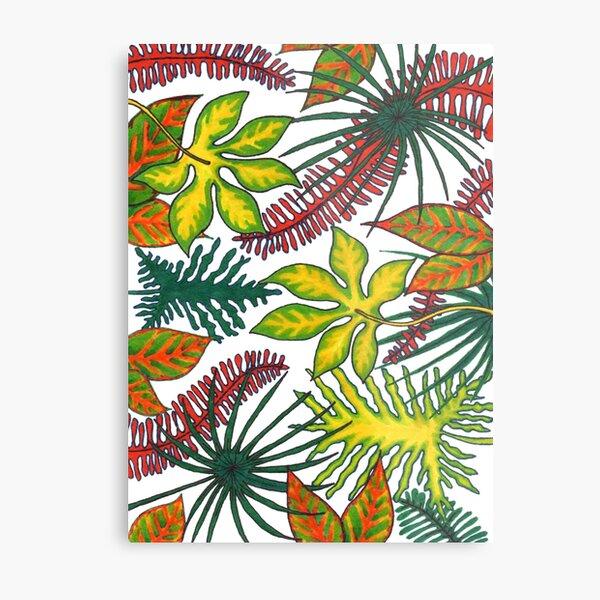 Florida Flora Metal Print