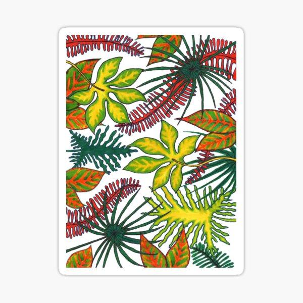 Florida Flora Sticker