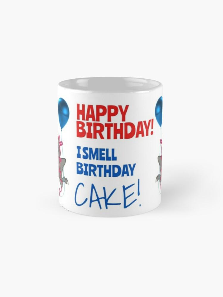 Alternate view of I Smell Birthday Cake! Mug