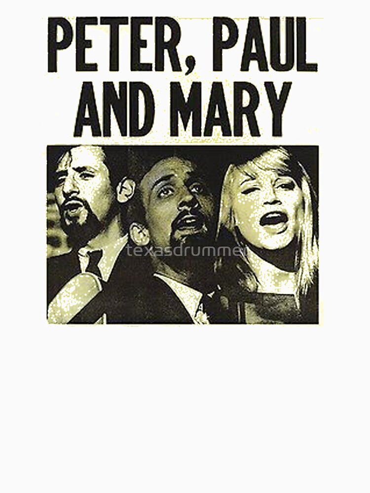 Peter Paul & Mary by texasdrummer