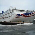 Oriana besucht Andalsnes - Norwegen von niki2028