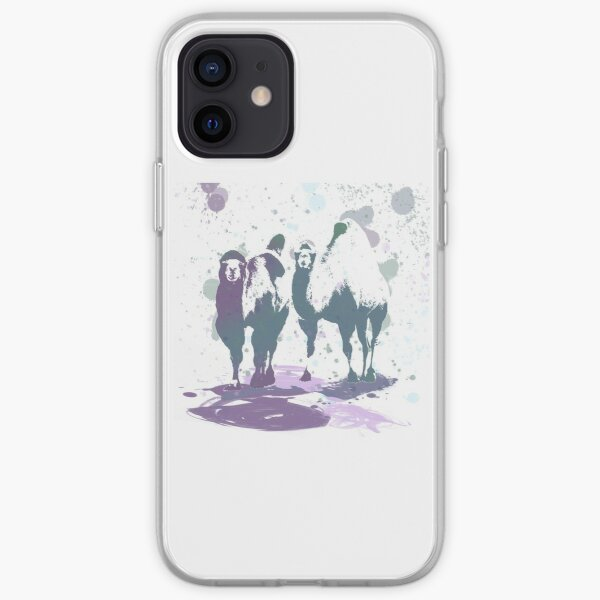 Camels Coming Your Way iPhone Soft Case