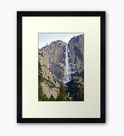 Yosemite Falls Early Spring Framed Print