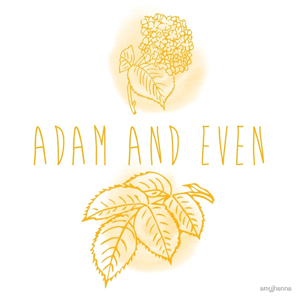 Adam and Even by amyjhanna