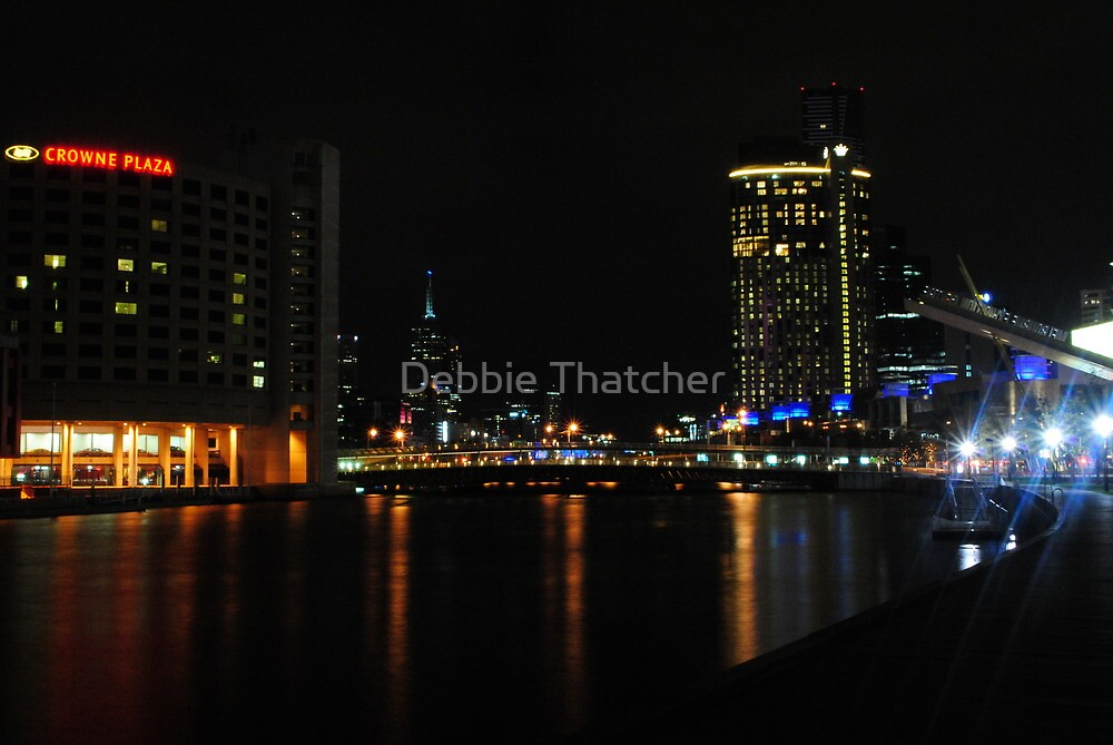 Crown Towers - Crown Casino by Debbie Thatcher