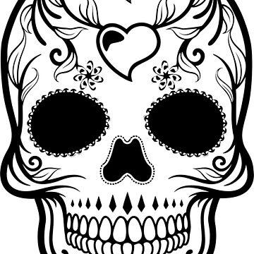 Sugar Skull by Passie
