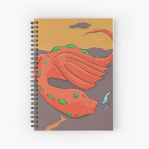 Sleeping Baby Dragon Spiral Notebook