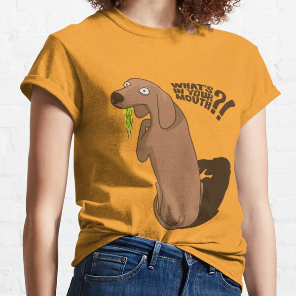 What's in your mouth? Classic T-Shirt