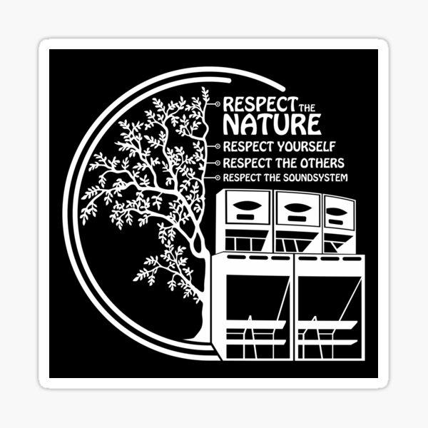 23AN091 - Tekno 23 respecte la nature Sticker