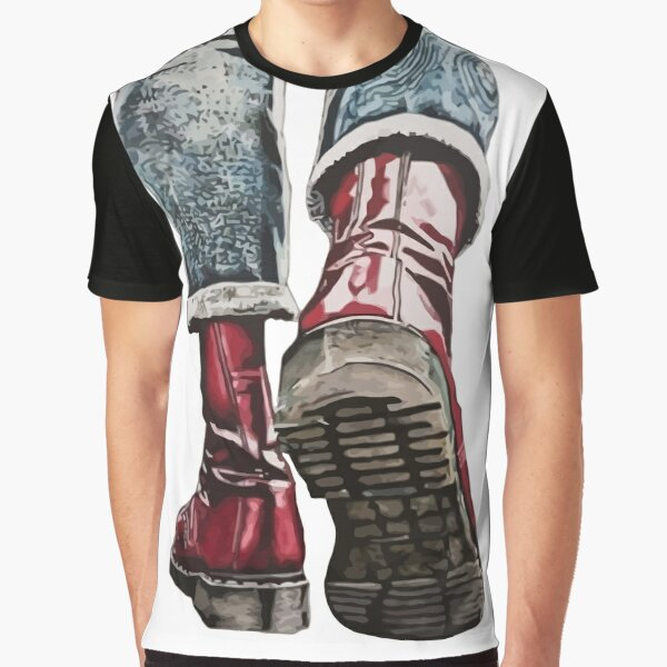 Skinhead Boots Graphic T-Shirt