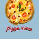 Pizza time! by Dan Widdowson