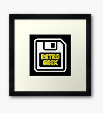 Retro Geek Framed Print