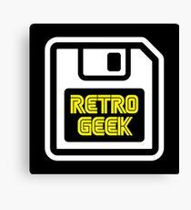 Retro Geek Canvas Print