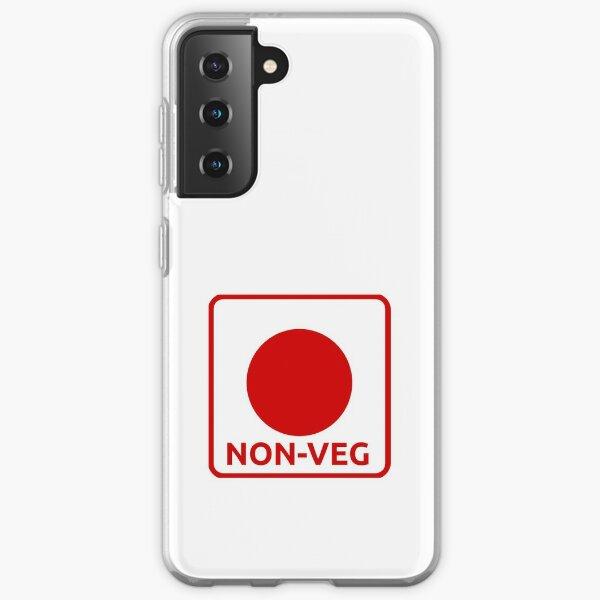 NON veg icon Samsung Galaxy Soft Case