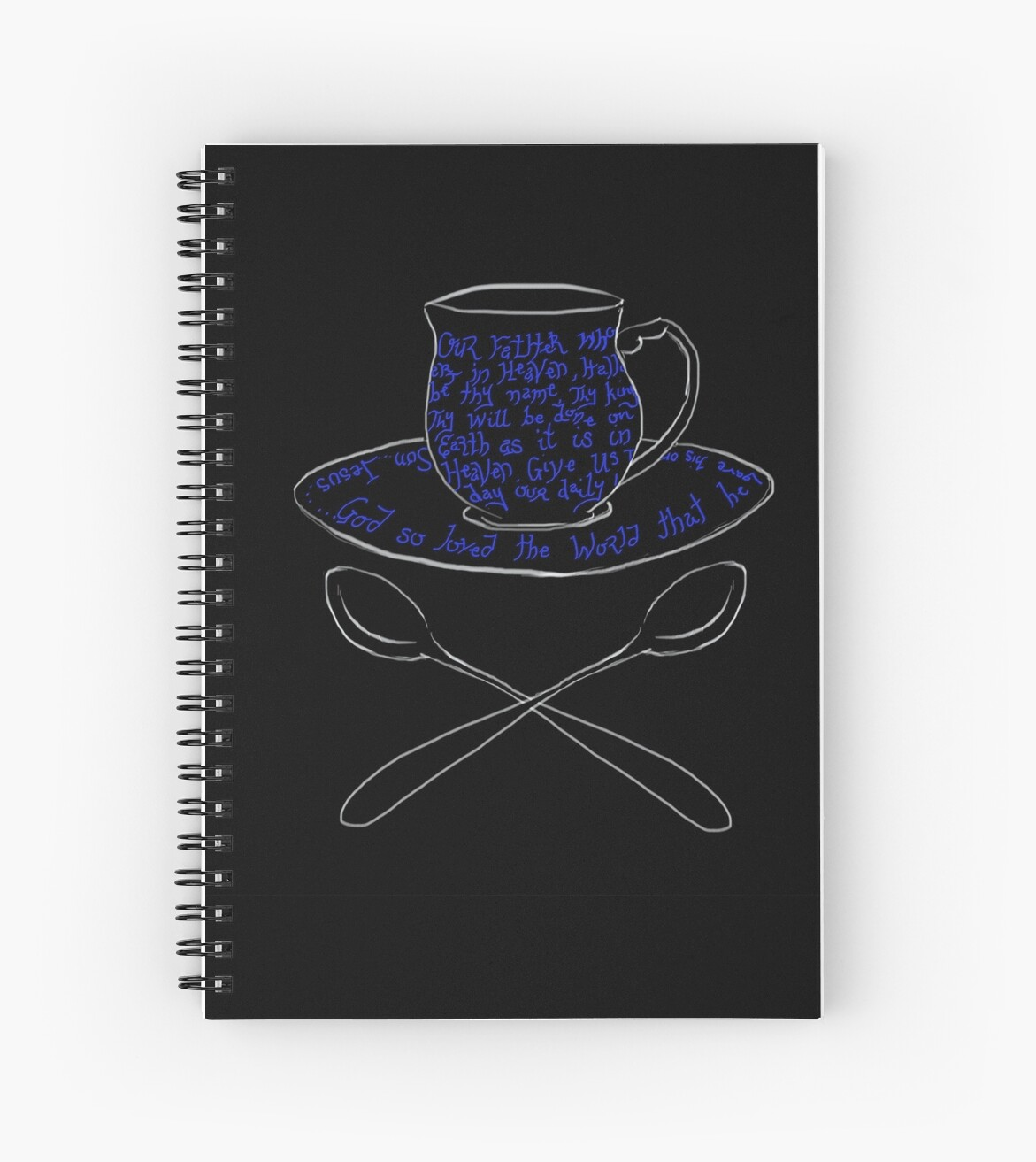 Tea Cup with Blue by starbreather