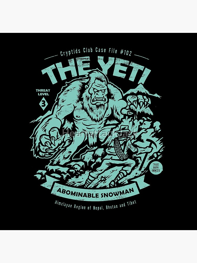 The Yeti - Cryptids club Case file #102 by HeartattackJack