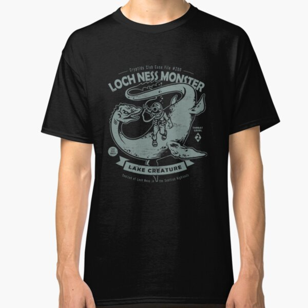 Lochness Monster - Cryptids Club Case file #200 Classic T-Shirt