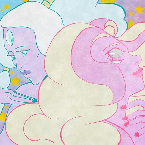 Opal & Rainbow Quartz by coefore