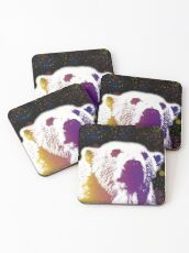 That Polar Bear is Watching Me Coasters