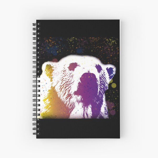 That Polar Bear is Watching Me Spiral Notebook