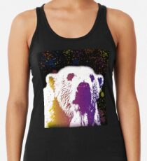 That Polar Bear is Watching Me Racerback Tank Top