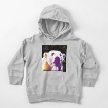 That Polar Bear is Watching Me Toddler Pullover Hoodie