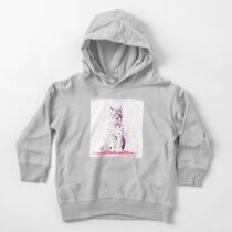The Lynx – A Face of Wisdom Toddler Pullover Hoodie