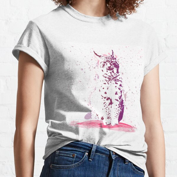 The Lynx – A Face of Wisdom Classic T-Shirt