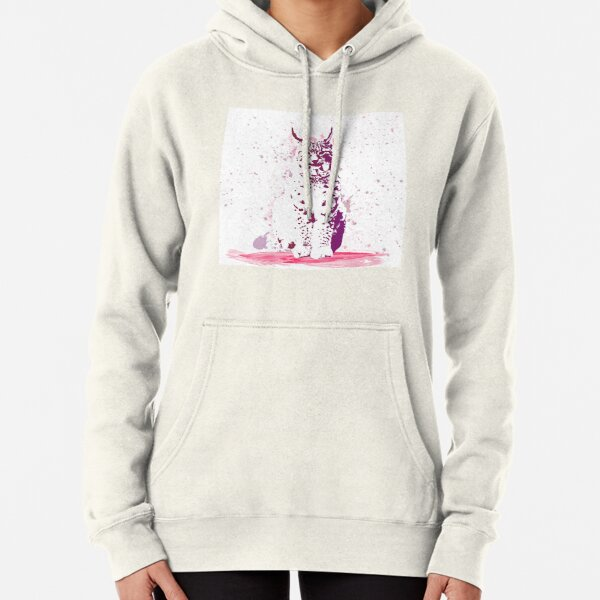 The Lynx – A Face of Wisdom Pullover Hoodie