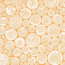Waiting For Spring Orange Pattern by plantita