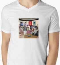 Just What Is It That Makes Today's Homes So Bland, So Unappealing? V-Neck T-Shirt