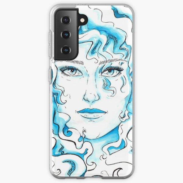 Blue Eyed Girl Samsung Galaxy Soft Case