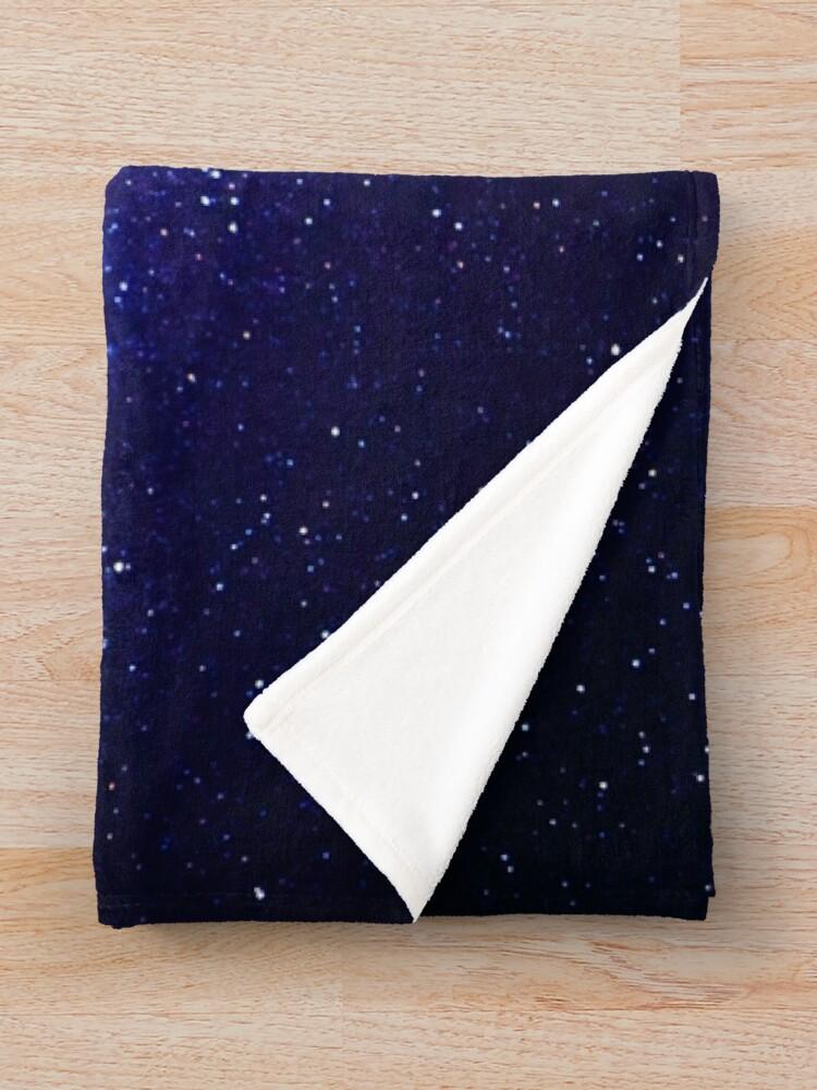 Alternate view of Galaxy  Throw Blanket