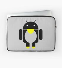 linux Tux penguin android  Laptop Sleeve