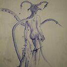 Alien Goddess by Neoran