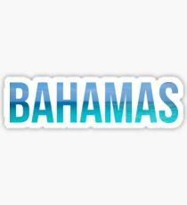 Pegatina Bahamas
