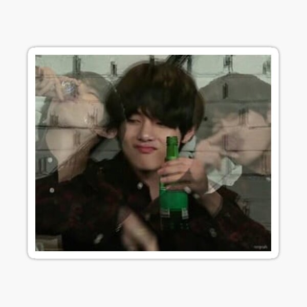BTS V meme Sticker