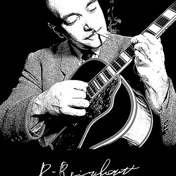Django Reinhardt-Gypsy jazz-Music-Guitar by carlosafmarques