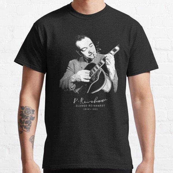 Django Reinhardt-Gypsy jazz-Music-Guitar Classic T-Shirt
