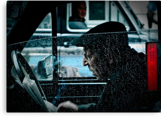 the taxi driver by Tony Day