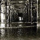 Under the Pier (Clacton) by Richard Pitman