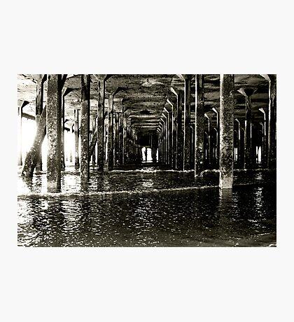 Under the Pier (Clacton) Photographic Print