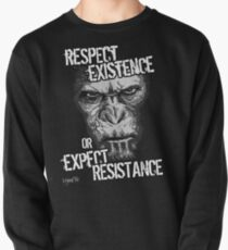 VeganChic ~ Respect Existence Pullover Sweatshirt